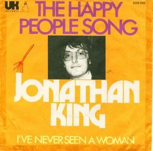 """The Happy People Song -- Ok.  Wouldn't you think the photo on the cover of the """"Happy People"""" album would at least be smiling?"""