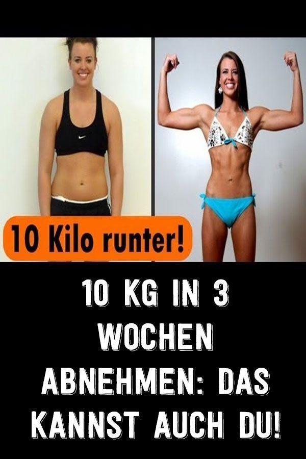 wie 3 kilo abnehmen