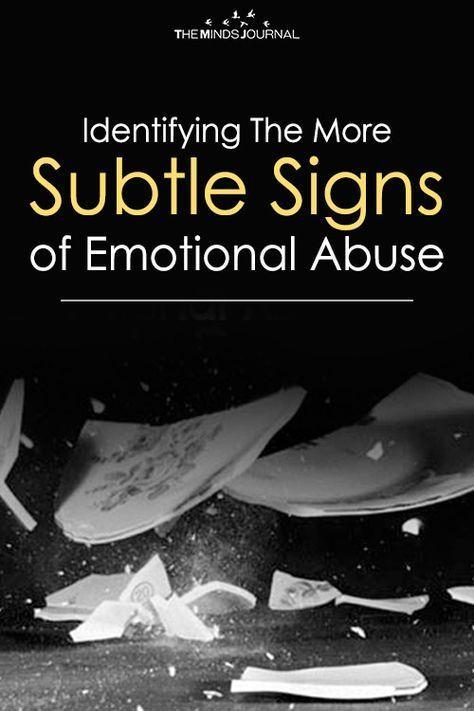 Subtle psychological abuse