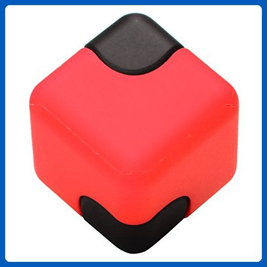 FidgetKit Novelty Hand Spinner Fidget Cube Dice Spinner Handheld Spinning Cube, EDC Gadgets Spinner Focus, Stress/Anxiety Relief Toy For Adults/Kids - Fidget spinner (*Amazon Partner-Link)