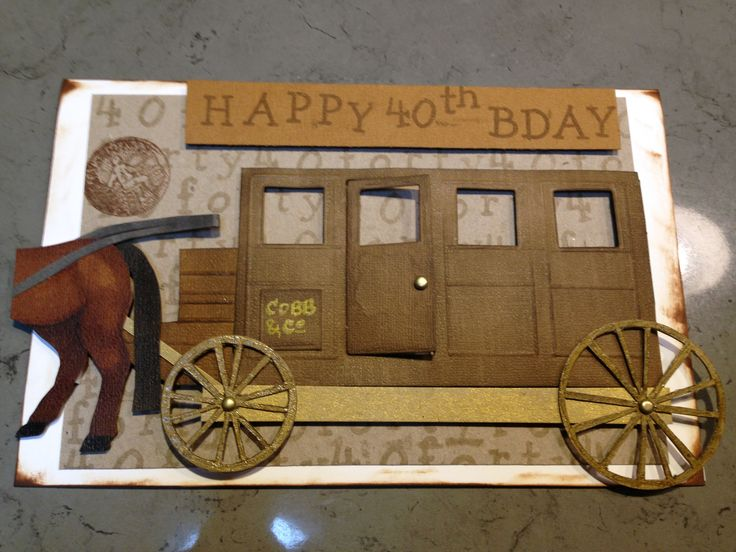 Cobb & Co. Card #L'amourcards #40th #Birthday #card