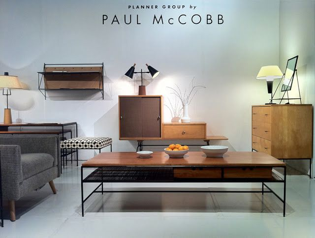 Reform Galleryu0027s Paul McCobb Exhibit At The Los Angeles Modernism Show.  Photo: Jonathan Goldstein