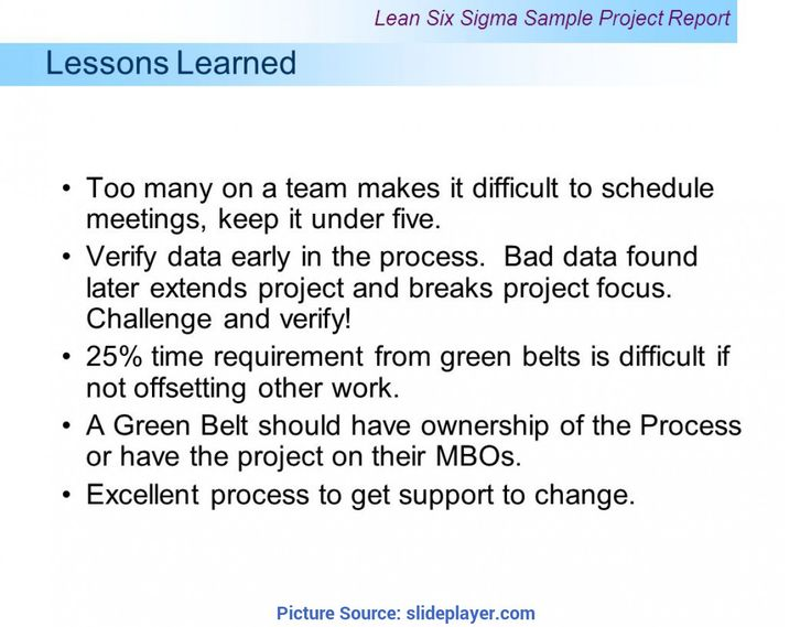 Project Closure Deliverables Lessons Learned Project