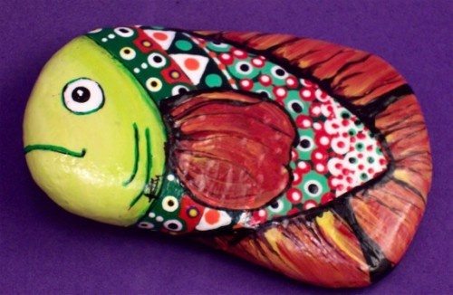 17 best images about pet rocks on pinterest pet rocks for Step 2 rocking fish