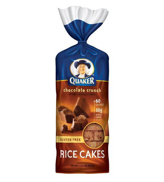 Quaker Rice Cakes - Chocolate Crunch - just 60 calories each. You can slice it in half, or in quarters, and eat the pieces like cookies. Much less fat and calories than chocolate cookies, however...
