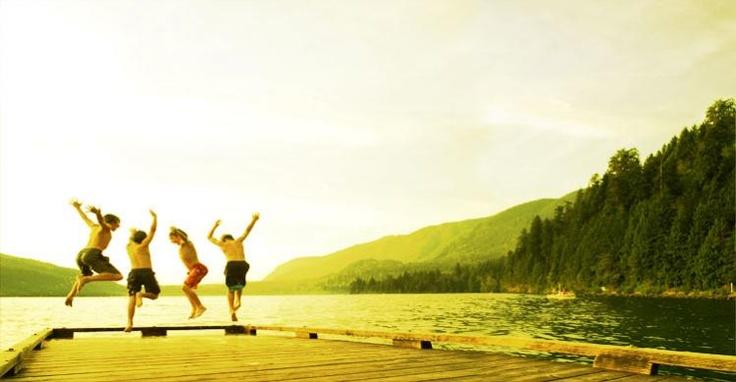 Cultus Lake Dock - Image Copyright Tourism Chilliwack