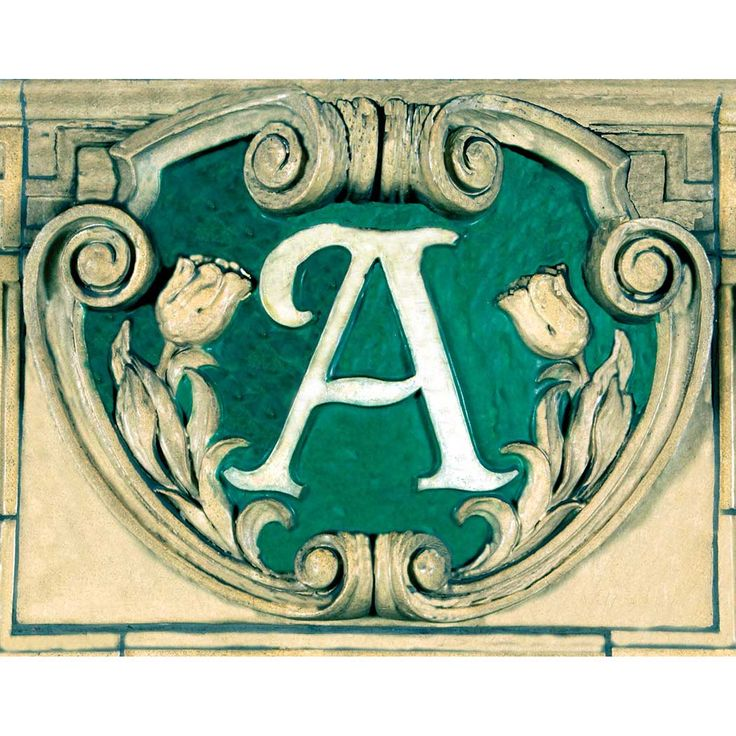"Atlantic Avenue 6X8 Tile. ""The classic Heins and LaFarge emblem, from the last station on the IRT extension to Brooklyn which opened in 1908, identified one of Brooklyn's main thoroughfares."" - Lee Stookey, Subway Ceramics"