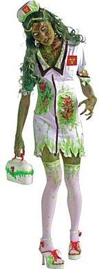Biohazard Zombie Nurse Halloween Costume http://www.partypacks.co.uk/biohazard-zombie-nurse-pid89229.html