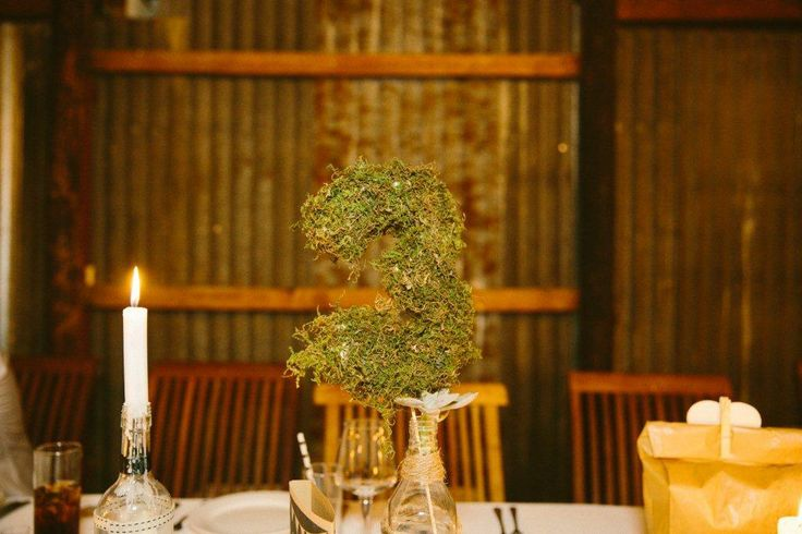 #table numbers #diy wedding #wedding #wedding table décor