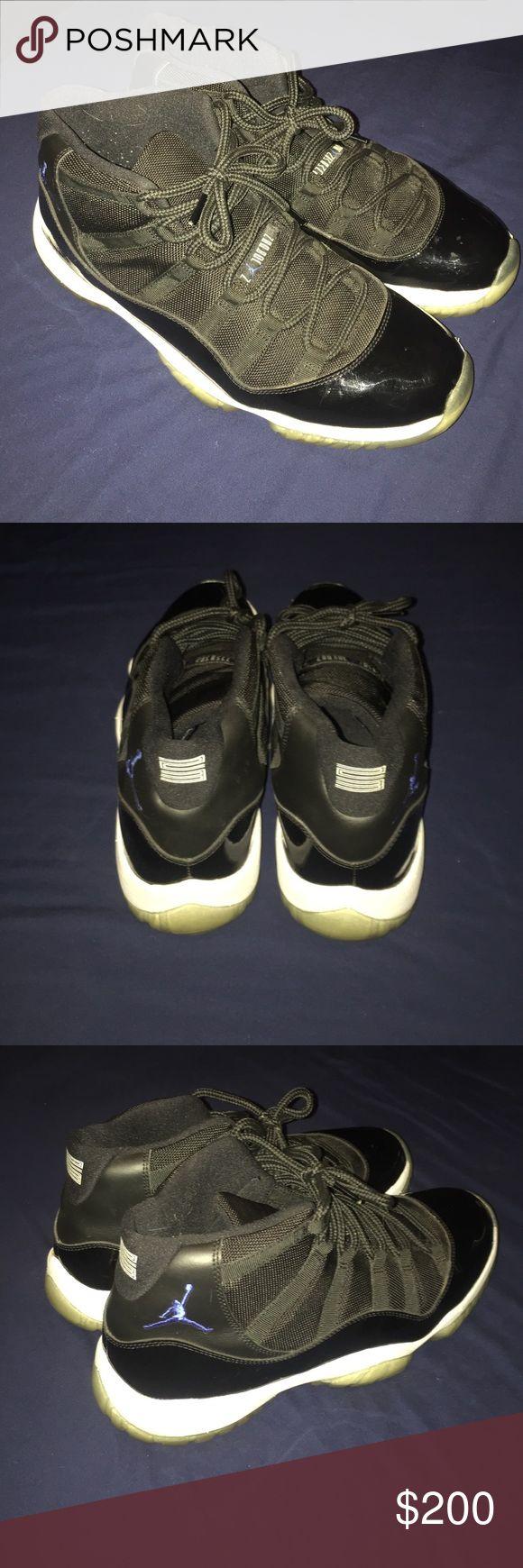 Need gone!!! Jordan Space Jam 11s barely worn Jordan Shoes Sneakers