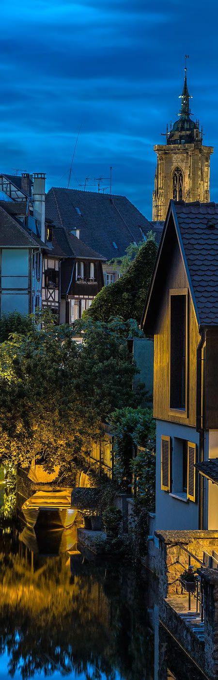 Colmar Old Town - Alsace, FRANCE