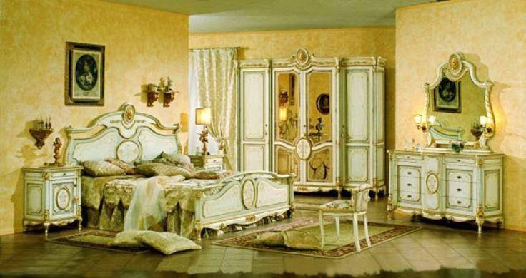 Tresor barokk hálószoba, velencei bézs kompletten