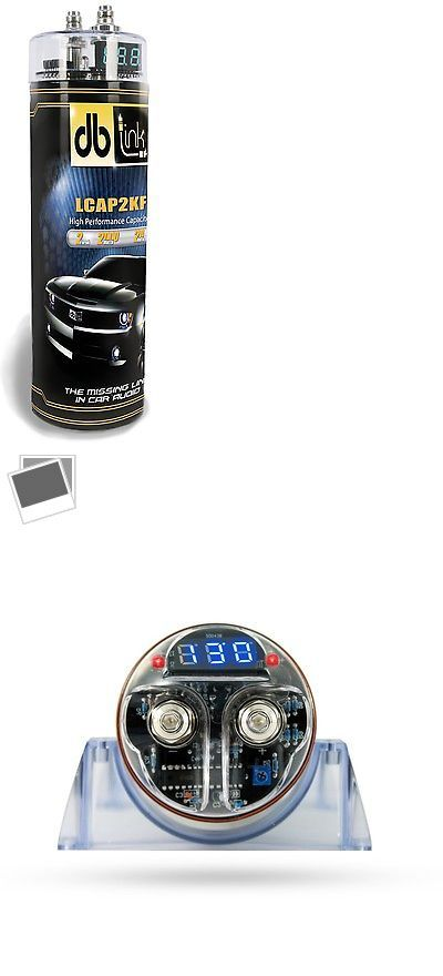 Capacitors: Db Link Lcap2kf 2.0 Farad High Performanc Capacitor Blue Digital Voltage Display BUY IT NOW ONLY: $40.61
