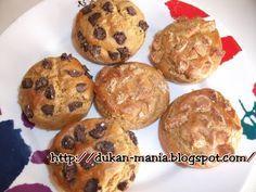 Recetas Dukan: Cookies de Chocolate
