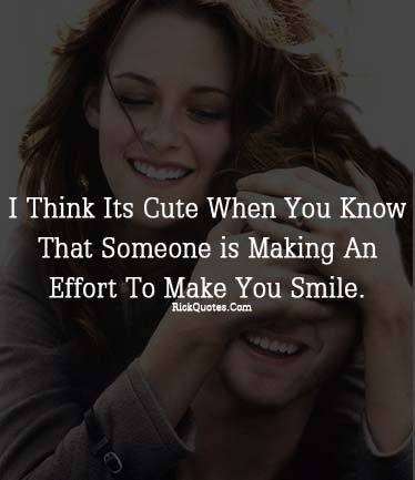 A happy quote! Too bad Kristen Stewart never really smiles and that
