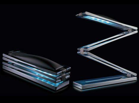 Chain Lamp, Lámpara LED Plegable