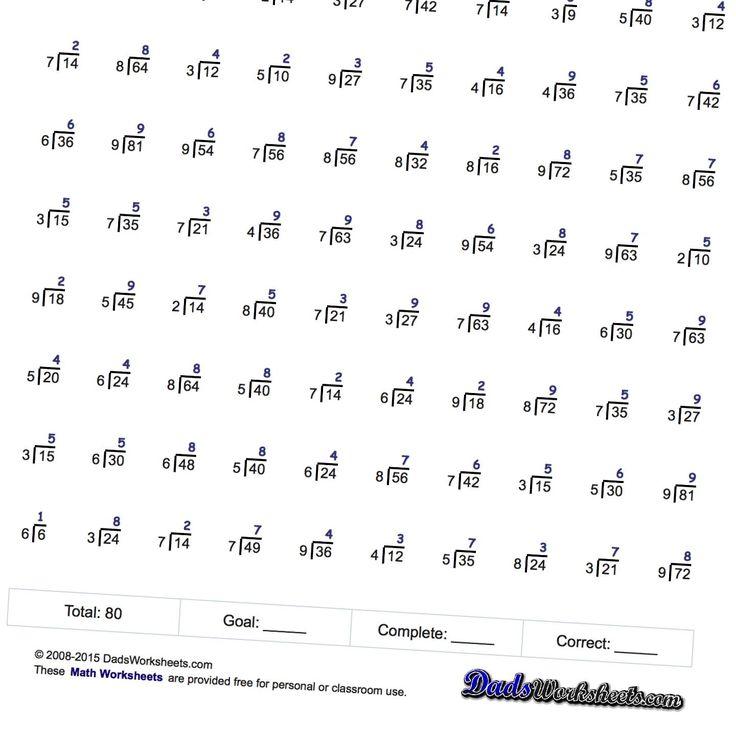 Math Fact Fluency Worksheets aprita – Multiplication Fact Fluency Worksheets