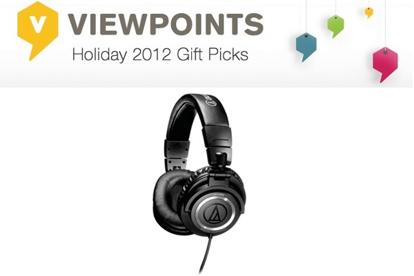 "Some say these high-end Audio Technica Professional Headphones are ""the best headphones on the market!"" They earn a perfect rating, and we know the music-lover on your gift list won't be disappointed."