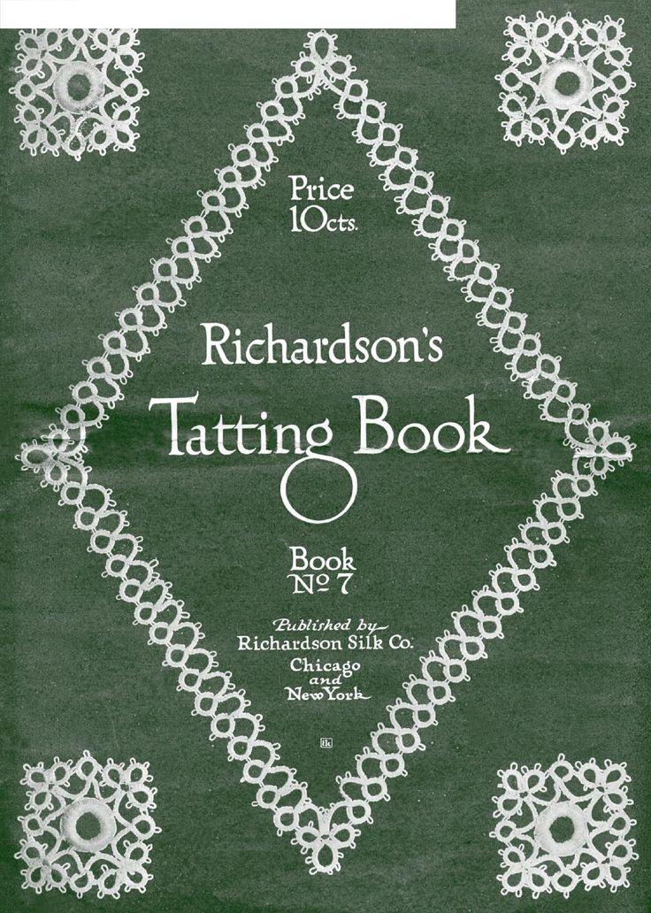 Richardsons tatting book 07  Frivolite Tatting Occhi