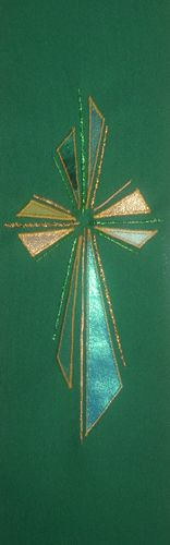 Designs in green   Adoremus - Could make in all the liturgical colors