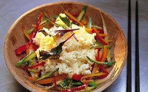 Kokosris med grönsaker