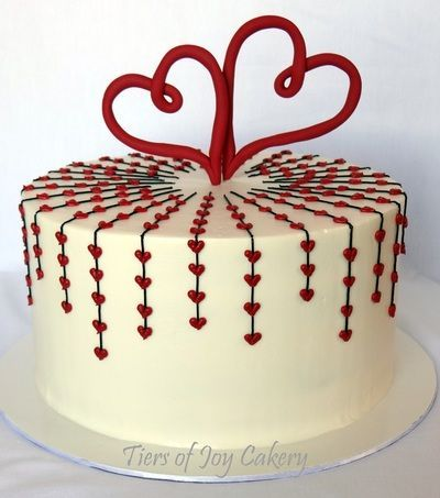 Cake Decorating Ideas With Hearts