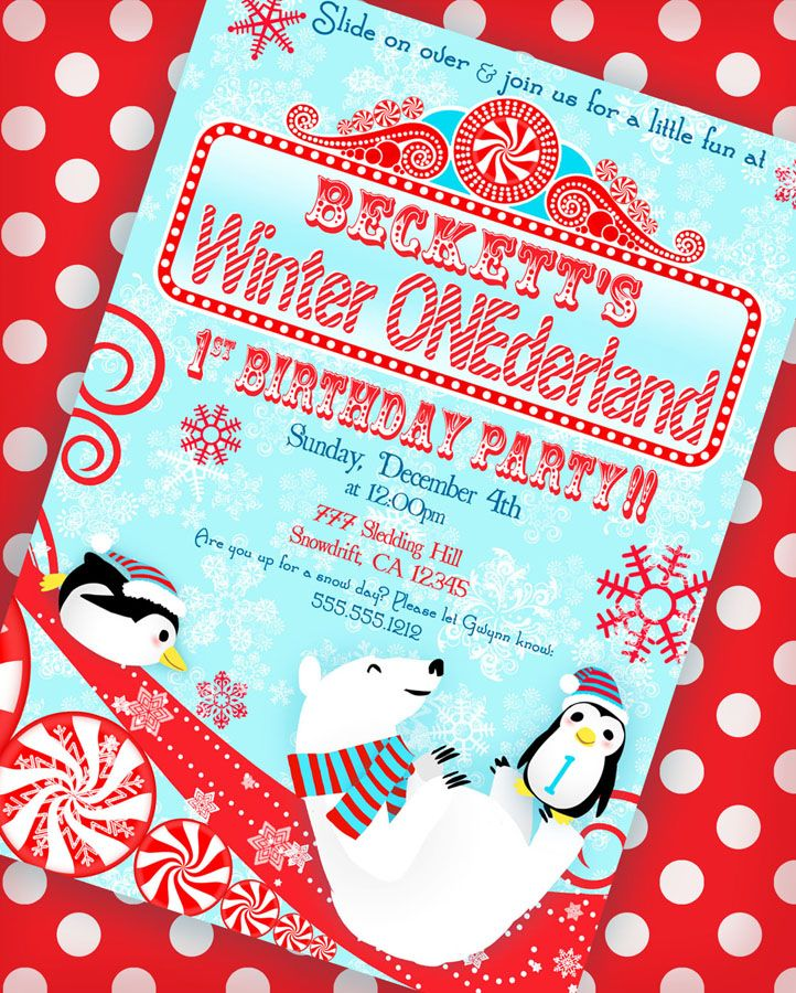 Winter ONEderland Birthday Party | | Kara's Party IdeasKara's Party Ideas