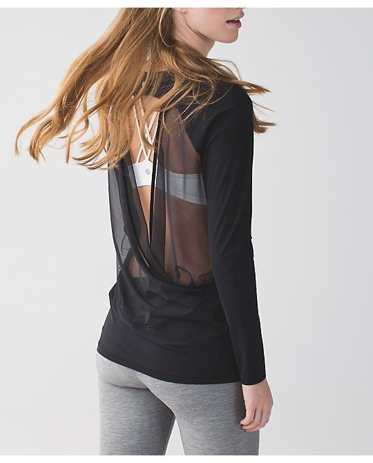 if you're lucky long sleeve tee | women's sweaters | lululemon athletica