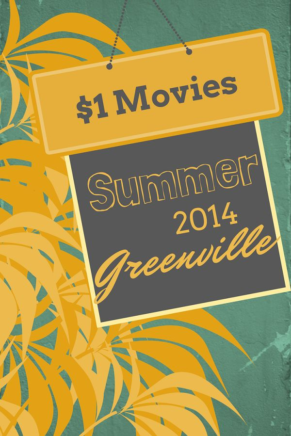 These movies are playing for just a $1 a theaters around the US. 3 movie theaters are participating in Greenville. #yeahTHATgreenville #greenvillesc #kidaroundsc