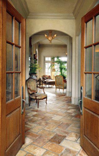 Interior designer Kim Brockinton enlisted New Orleans architect Davis Jahncke, to invoke rural France within her own home.