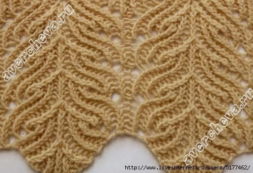 This knitting stitch pattern is stunning. There are several other gorgeous patterns on this site; the charts are free!