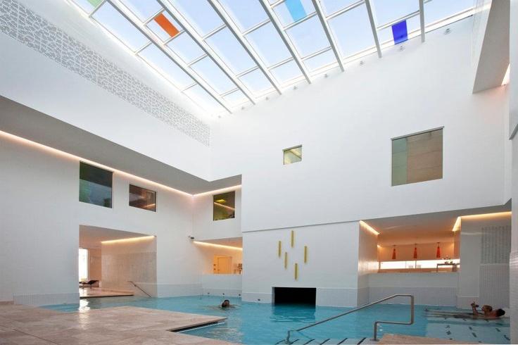 Skodsborg Kurhotel & Spa (new building, 2012) by Henning Larsen Architects. www.henninglarsen... and www.skodsborg.dk