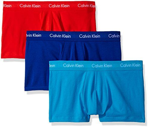 buy now   $42.50 Comfort and style reign supreme in classic Calvin Klein underwear. Classic fit. Stretch cotton fabrication provides lasting comfort throughout the day. Low rise trunk design. Repeat logo enhances the elastic waistband. Seamed contour pouch provides lift and support. Yoke seam... http://www.planetmarket.eu/product/calvin-klein-mens-underwear-3-pack-cotton-stretch-low-rise-trunks-prussianorange-rougeparadise-m/ Calvin Klein Men's Underwear 3 Pack Cotton Stretch