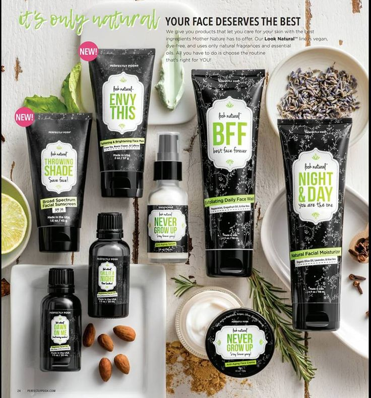 I LOVE everything about this line!!! I use 4 of these products daily, can you guess which ones?? https://pishposhpampering.po.sh/products/look-natural