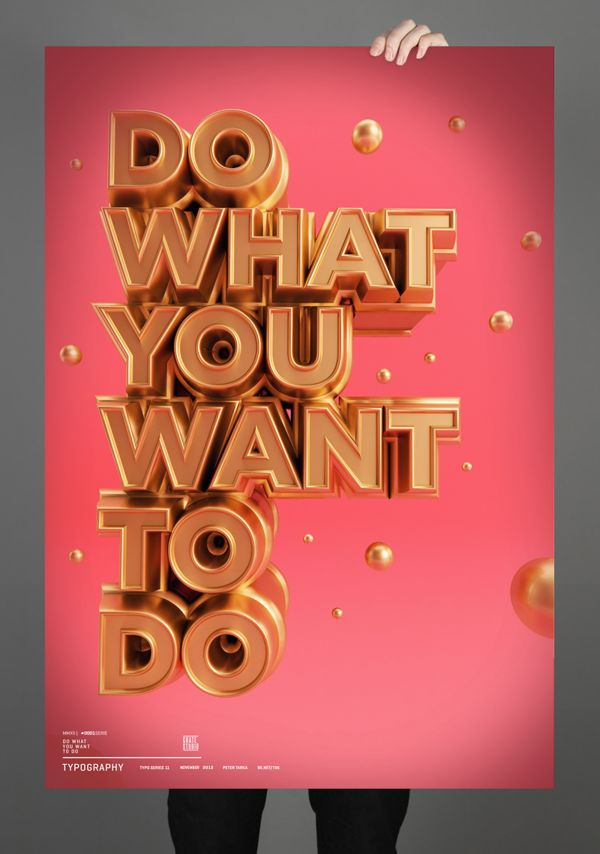 Typography 08. by Peter Tarka, via Behance