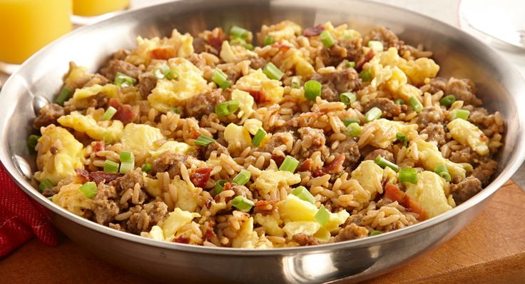 Zatarain's® Breakfast Dirty Rice