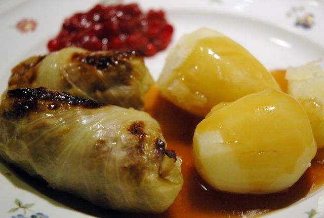 Anne's Food: Stuffed Cabbage Rolls - Kåldolmar