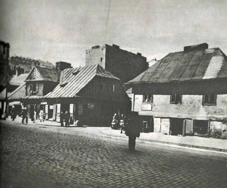 Ulica Tamka przed 1939.