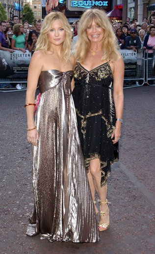 Goldie Hawn & Kate Hudson~