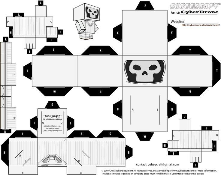 Cubee - Vashta Nerada by CyberDrone.deviantart.com on @deviantART