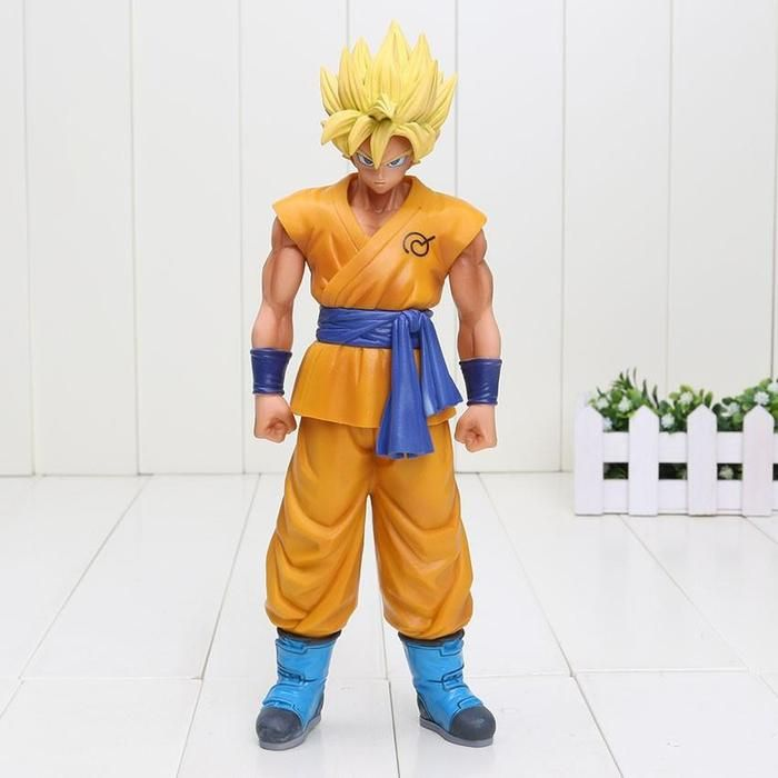 2019 Movie Dragon Ball Z Super Broly Ultimate Soldiers Broli Super Saiyan Pvc Action Figure Dbz Goku Fighting Model 34cm Action & Toy Figures