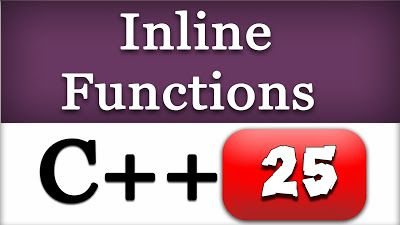 Inline Function in C and C++