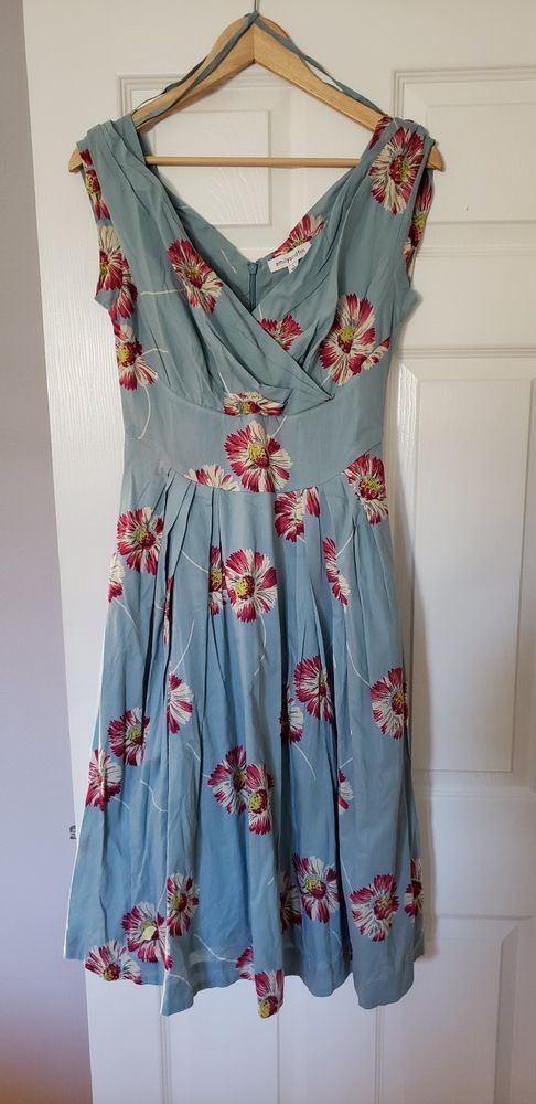NWT Emily And Fin Size UK10 Size S Eur 38 Floral Dress Florence  fashion   clothing  shoes  accessories  womensclothing  dresses (ebay link) 05dbf0394