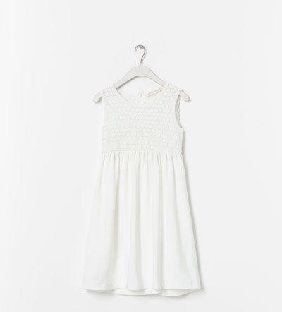 ZARA - KIDS - COMBINED DRESS