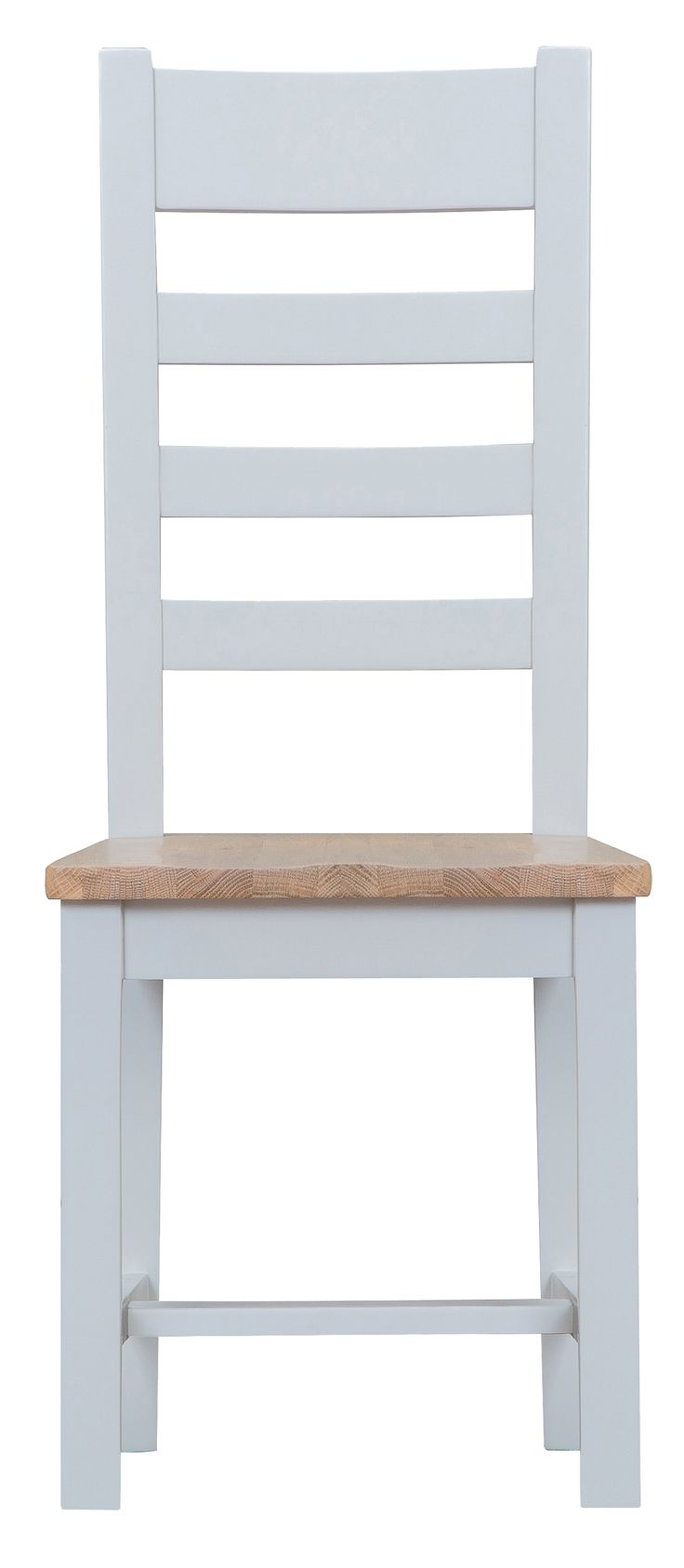 Painted ladder back chairs - Toronto Ladder Back Chair Solid Oak Seat Painted Grey
