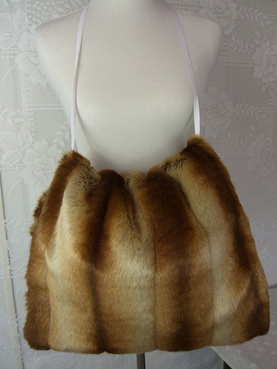 Oversized Sheared CHINCHILLA Hand MUFF Women's Hand by HotHats, $47.95