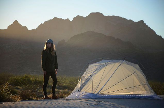 These Snow White Tents Offer Shelter With Lightweight