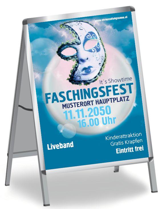 Verschiedene Designs und Größen für dein exklusives Plakat #exklusivesdesign #plakatdesign #layoutdesign #blau #faschingsfest #faschingsparty #karnevalsfest #karnevalparty