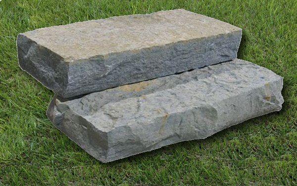 Blue river snapped steps landscaping natural stone for Landscaping rock estimator