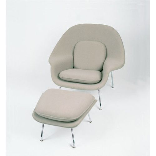 Found+it+at+AllModern+-+Womb+Chair+and+Ottoman